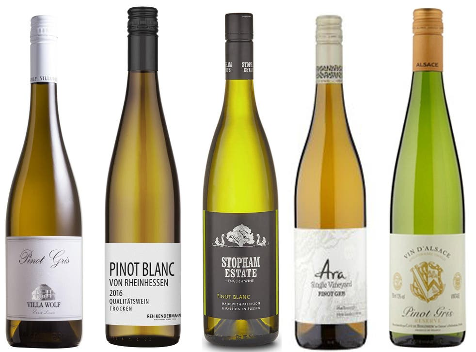 Pinot gris, the predominant grape in Alsace, produces characterful wines that stand up to more demanding foods