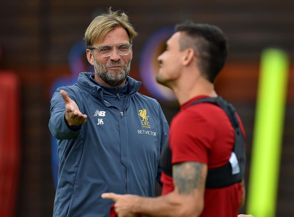 Jurgen Klopp was pleased with how Liverpool fans rallied round Dejan Lovren