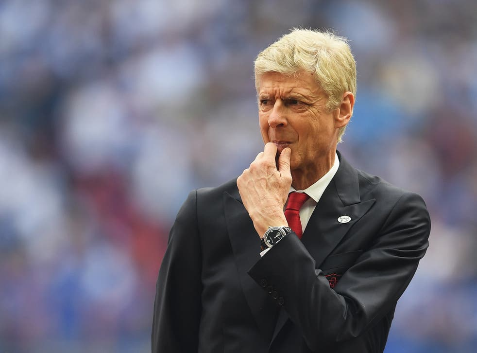 The Arsenal manager has spoken out over his future