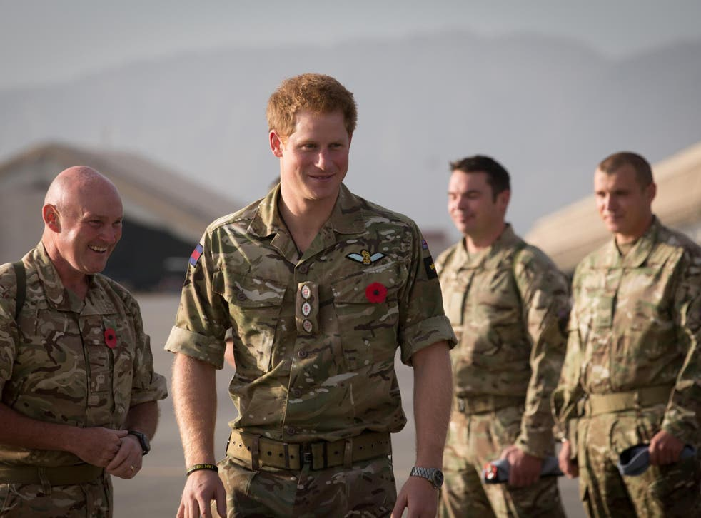 The prince was scheduled to travel to Iraq, but officials changed their mind and he served a tour in Helmand in Afghanistan later that year