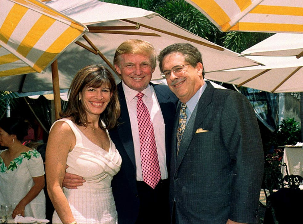 Robin Bernstein, left, has been nominated by Trump as envoy to the Dominican Republic – despite only speaking 'basic' Spanish