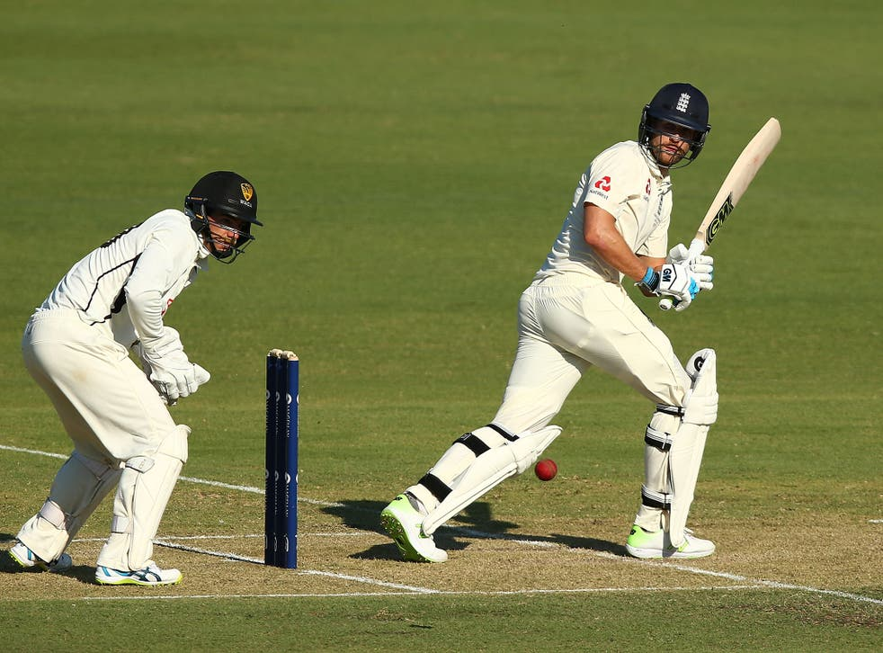 Dawid Malan helped England bounce back after the early dismissals