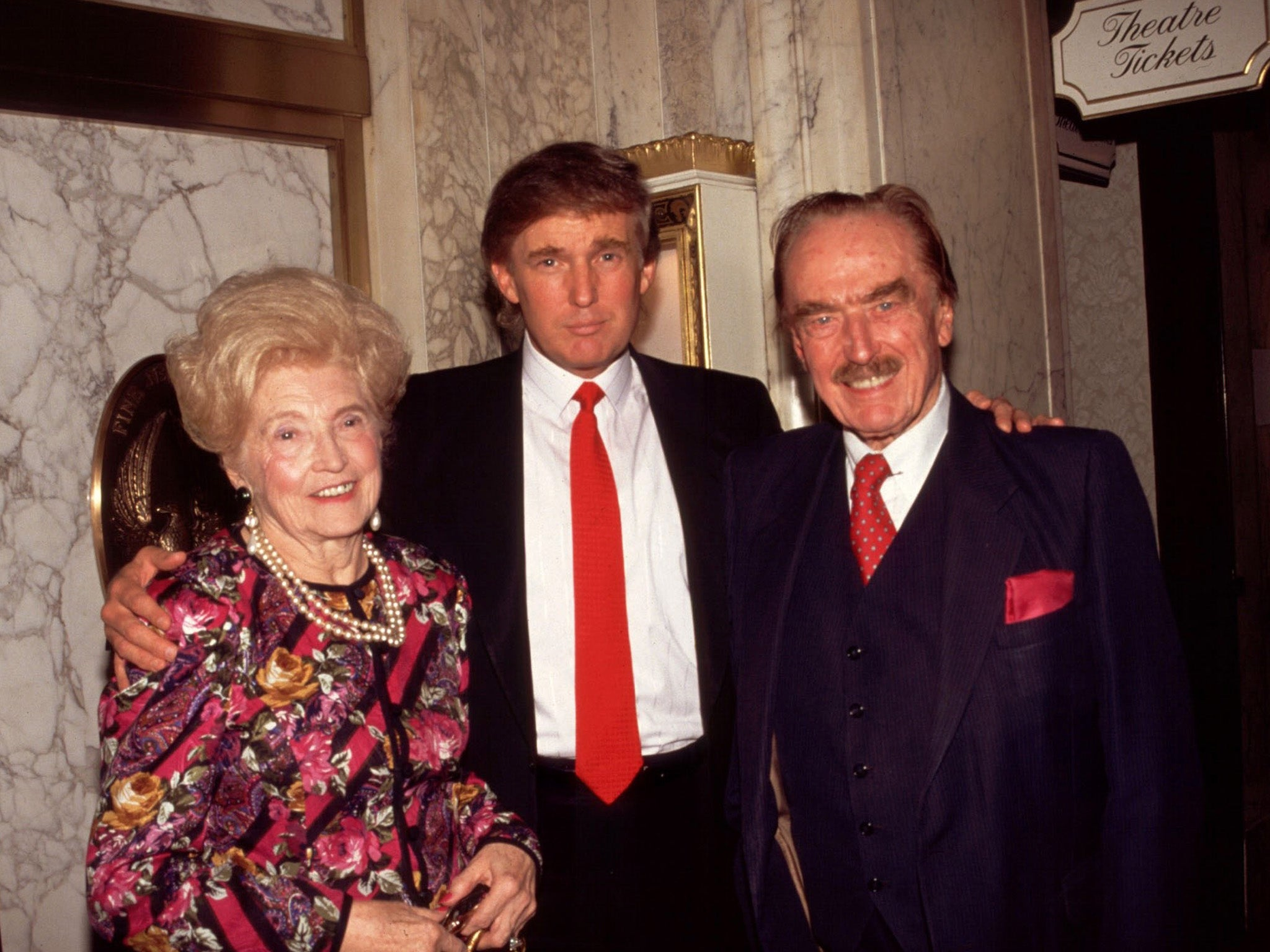 Mary And Fred Trump