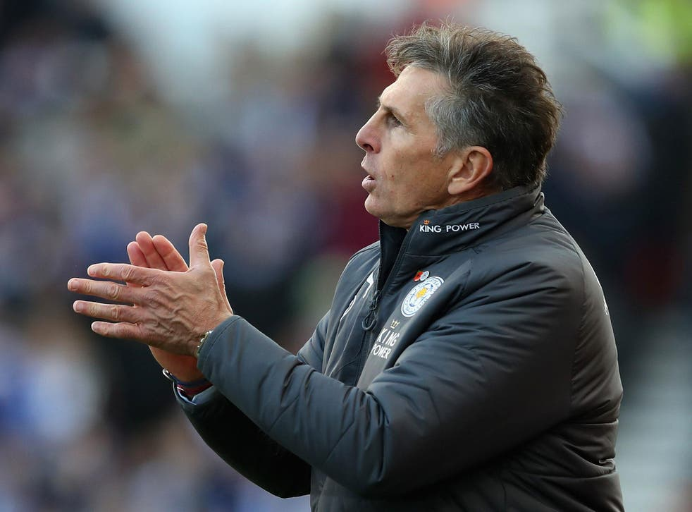 Claude Puel will know he has plenty of work to do with this Leicester side