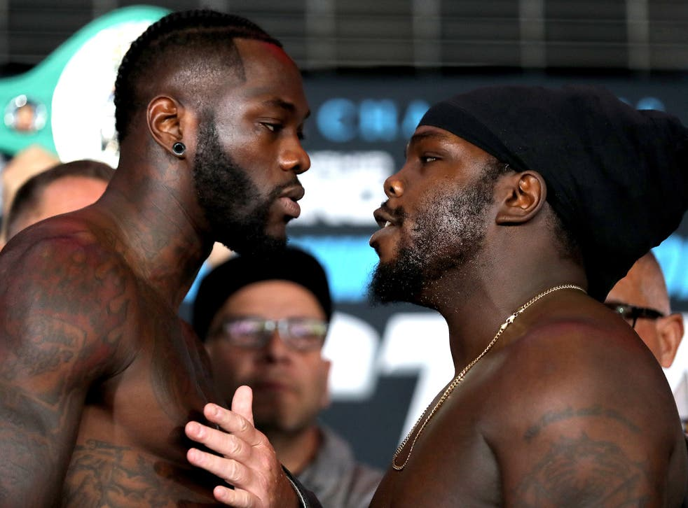 Wilder first beat Stiverne back in January 2015