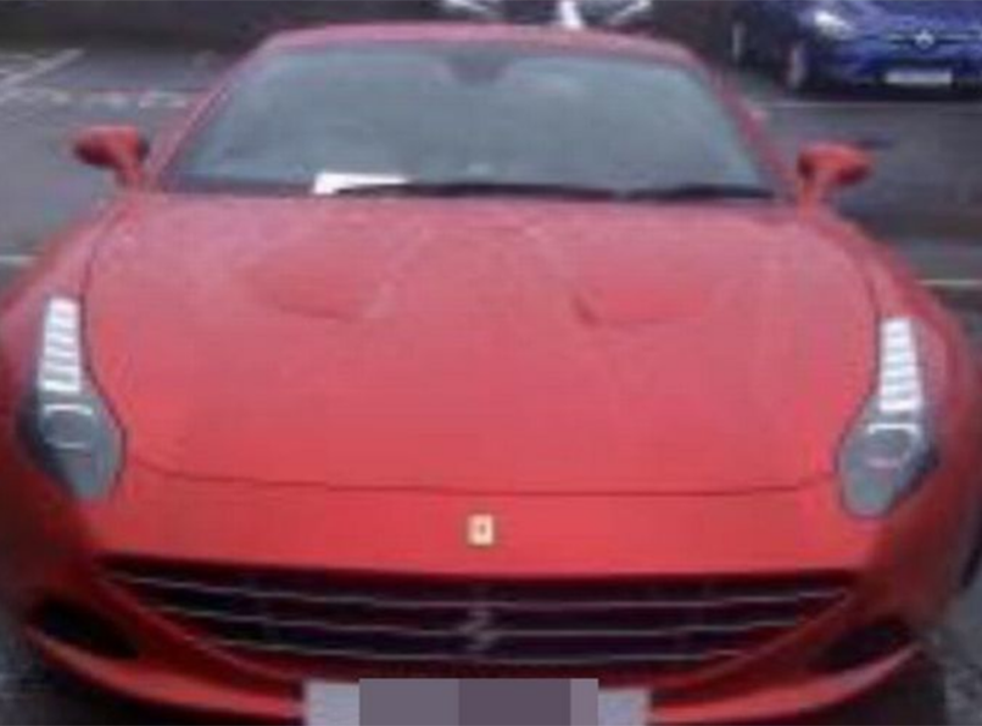 Mr McWhinney said he had never been given a penalty in the past for leaving his Ferrari across two spaces