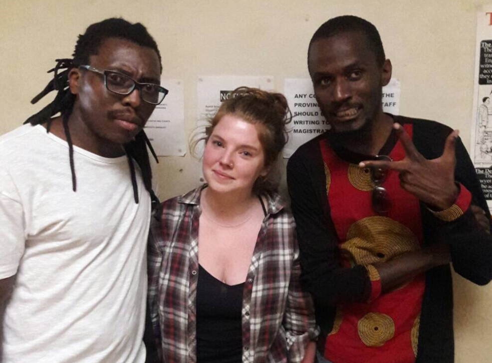 Martha O'Donovan has been arrested in Zimbabwe for allegedly insulting President Robert Mugabe