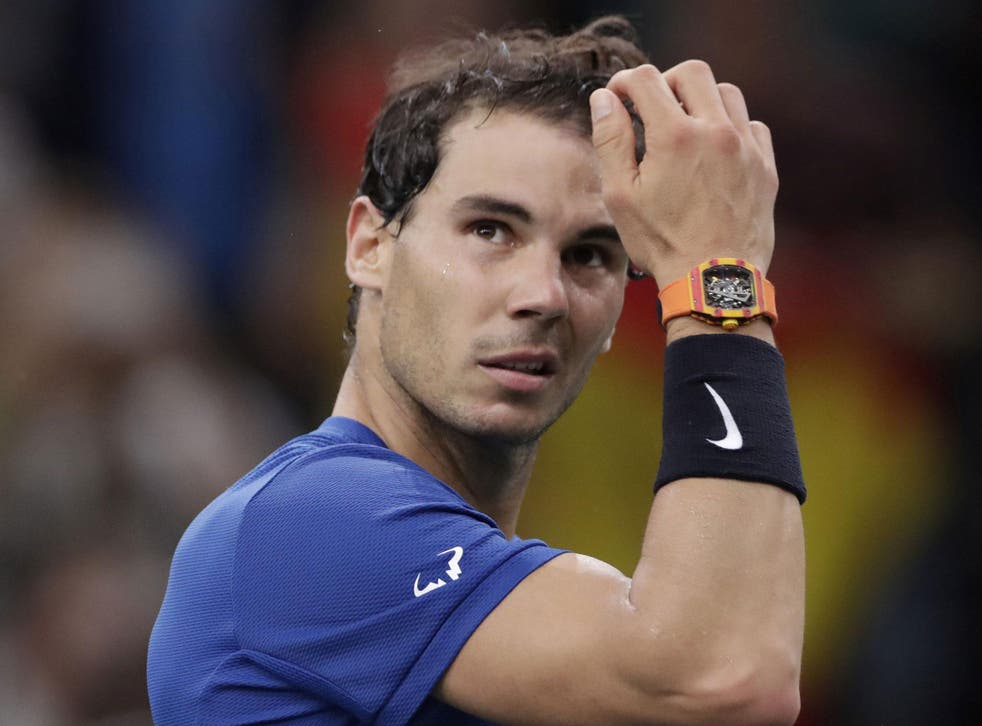 Rafael Nadal faces a race against time to be fit for London