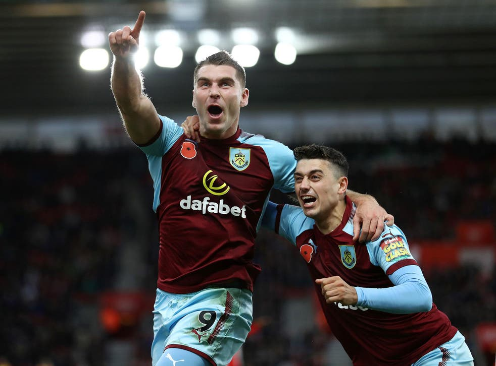 Sam Vokes struck late to give the high-flying Clarets another win