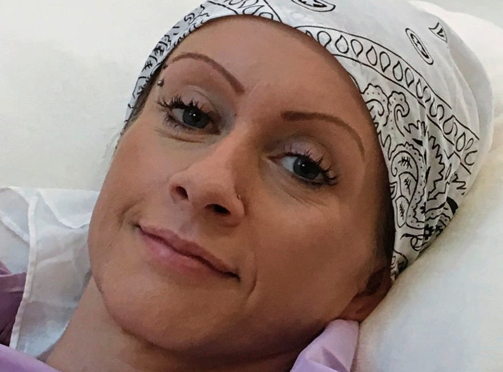 Nicola Hitchen has undergone a pioneering treatment in Turkey to treat her cervical cancer