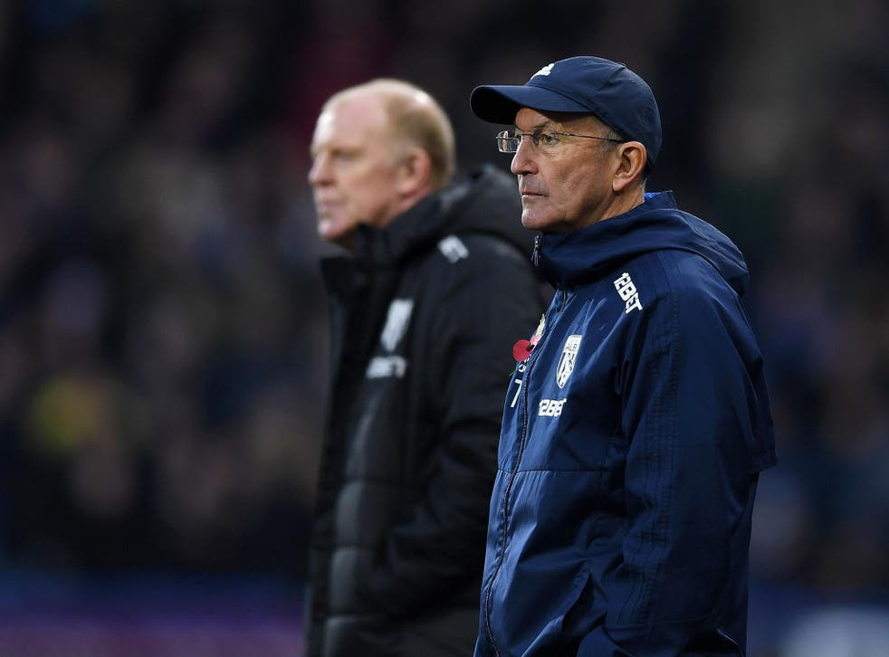 Tony Pulis finds himself under extreme pressure after another poor result