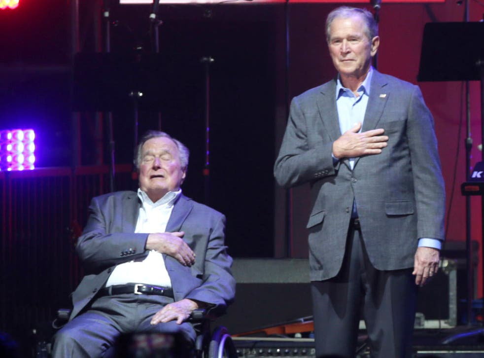 Both former presidents have criticised Donald Trump in the past