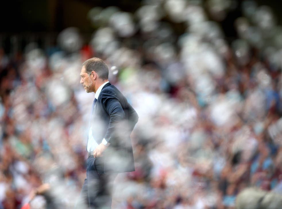 Slaven Bilic was sacked on Monday