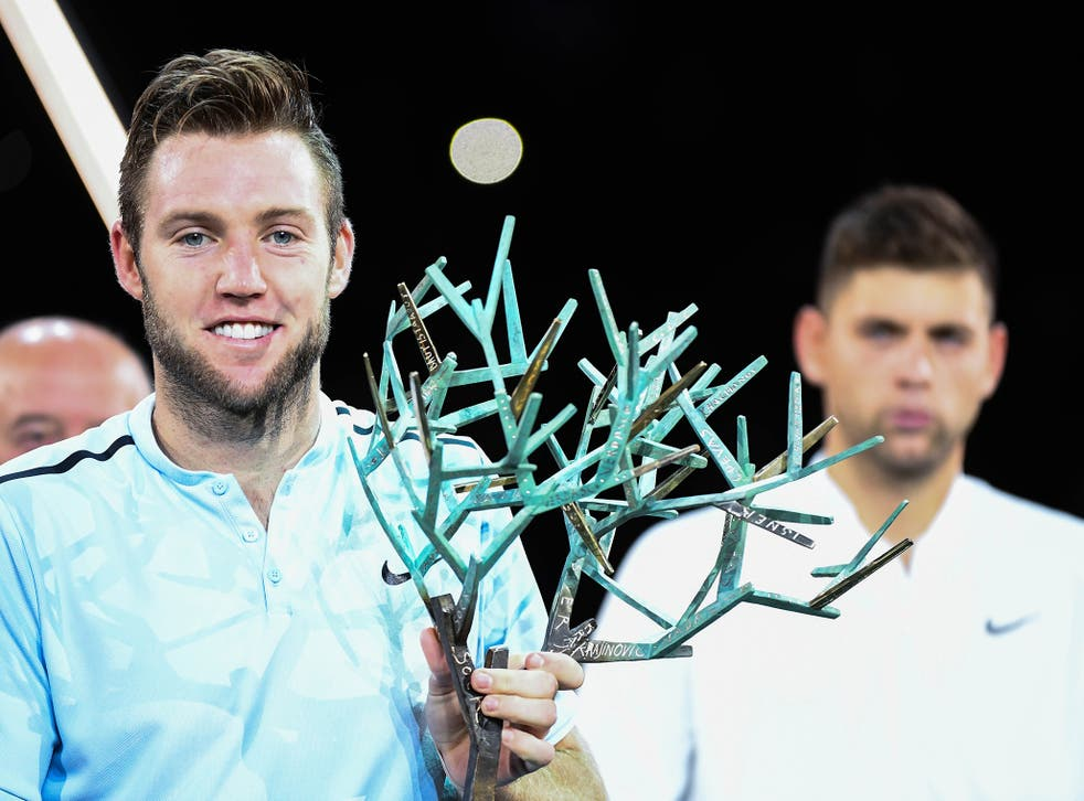 Sock needed to win the title to leapfrog Pablo Carreno Busta into eighth place