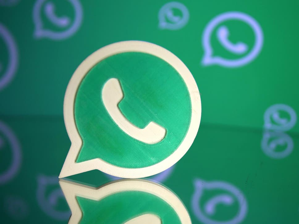 Whatsapp new feature will let users respond to group chat messages a 3d printed whatsapp logo is seen in front of a displayed whatsapp logo in this ccuart Image collections