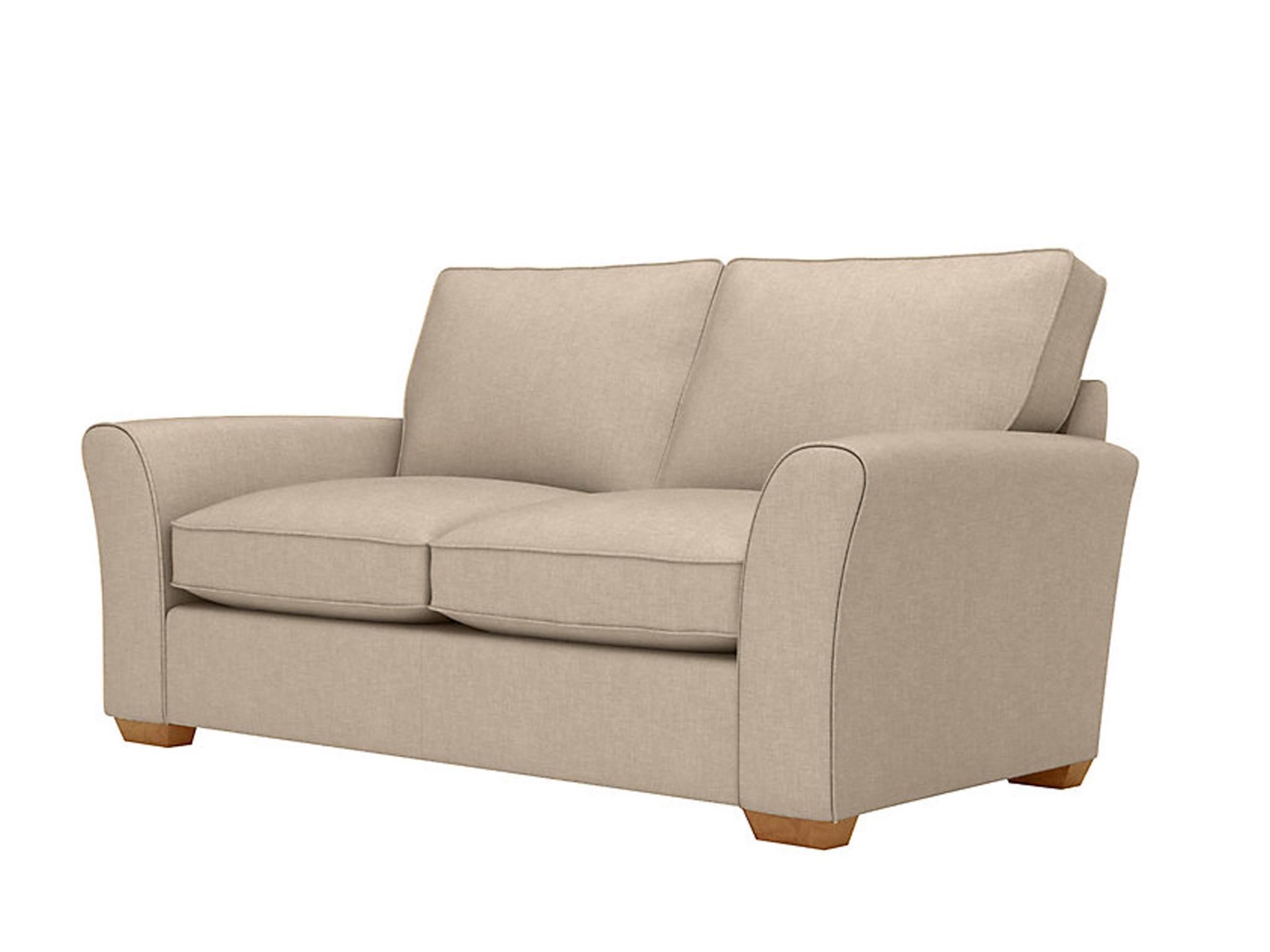 The Plain Looks Of The Lincoln Sofa Means It Can Fit In With Most Schemes,  And It Comes In A Wide Choice Of Leather And Fabric For You To Find The Best  ...
