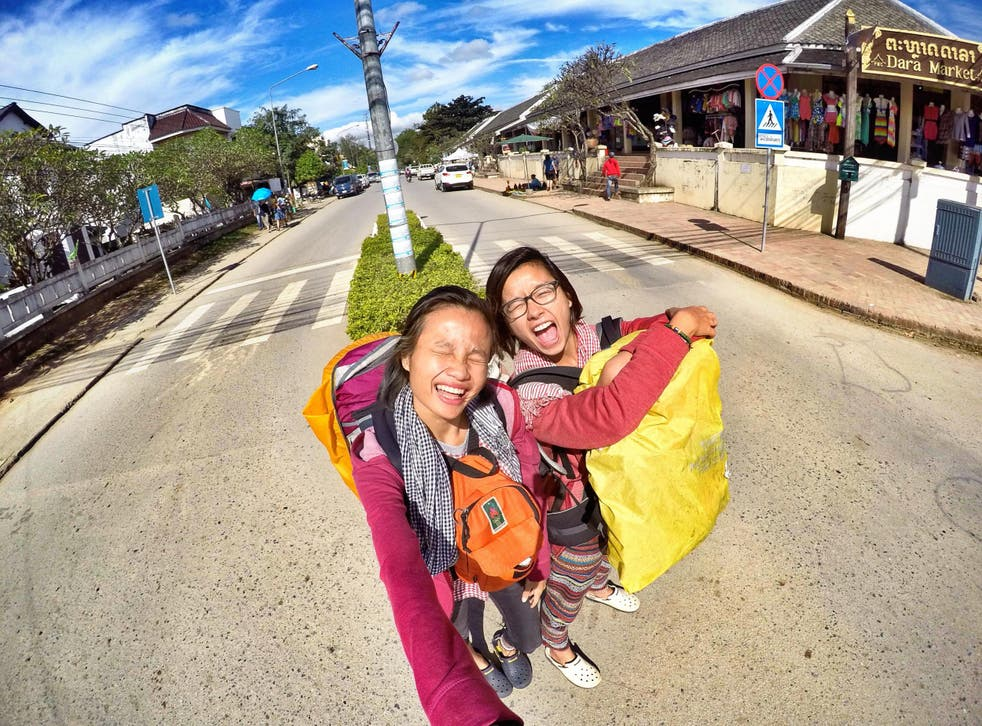 Lomorpich Rithy (right) and her sister Lomorkesor are on a mission to save their Cambodian heritage