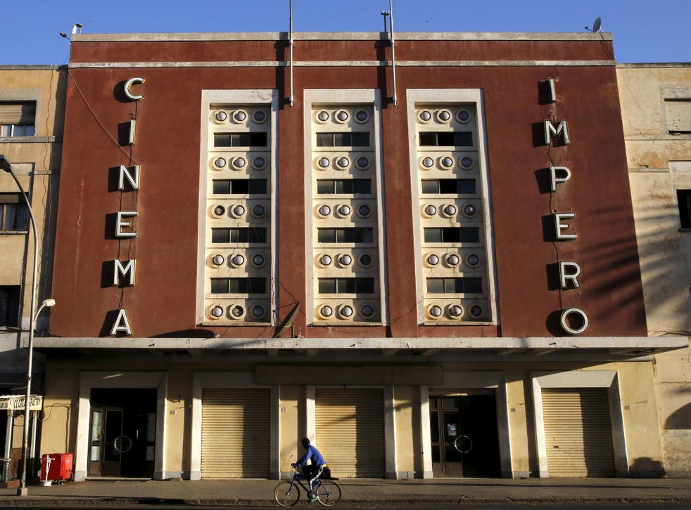 The Art-Deco style Cinema Impero on Harnet Avenue, Asmara