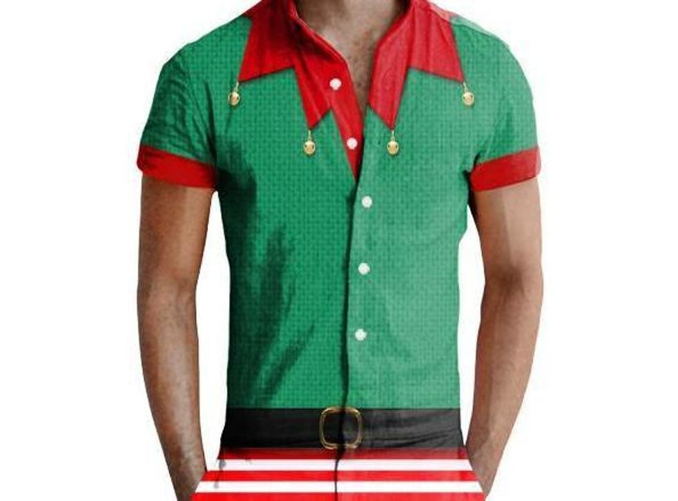 The rompers come in a variety of designs including a Santa suit, elf, Christmas tree and menorah
