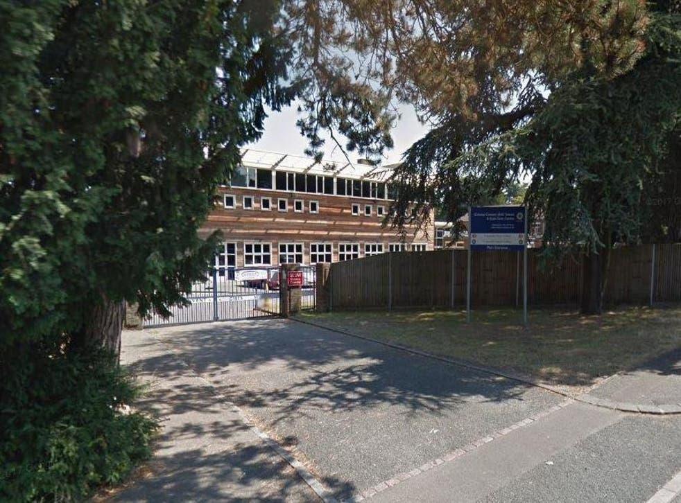 Coloma Convent Girls' School in Croydon, south London