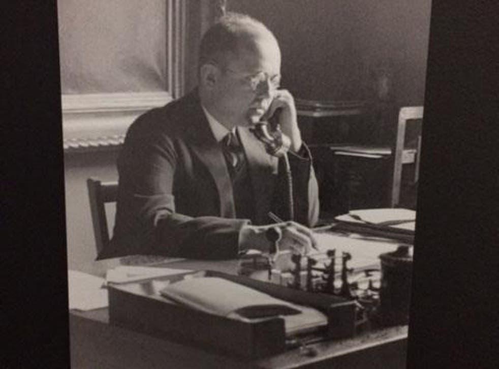 Hitler's art dealer, Hildebrand Gurlitt, whose collection of artworks are being exhibited in Germany