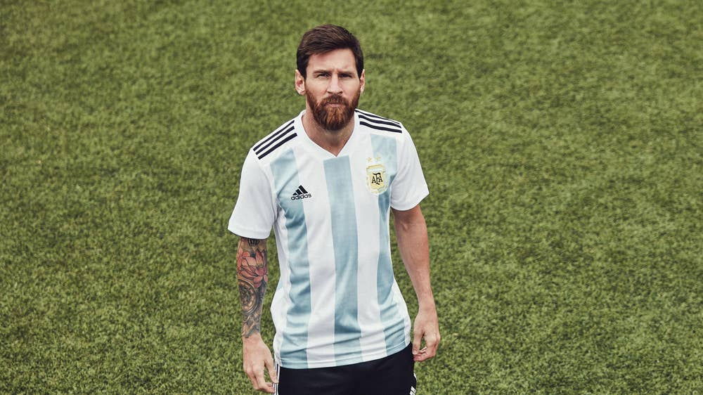 fb2fadd922e World Cup 2018  All the latest kits from the likes of Argentina ...