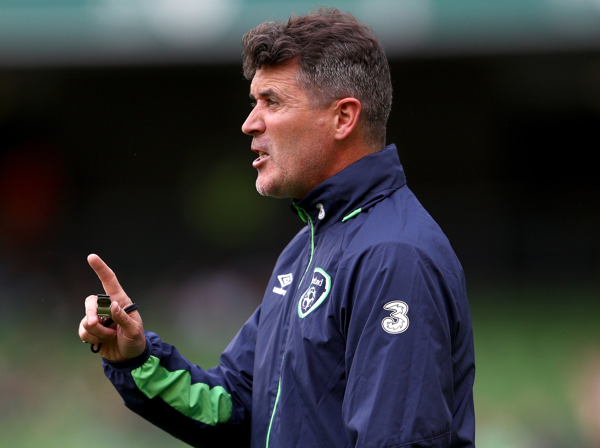Republic of Ireland assistant boss Roy Keane distances himself