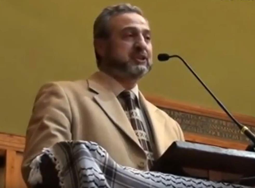 Mohammed Sawalha speaking at an event in London in 2011