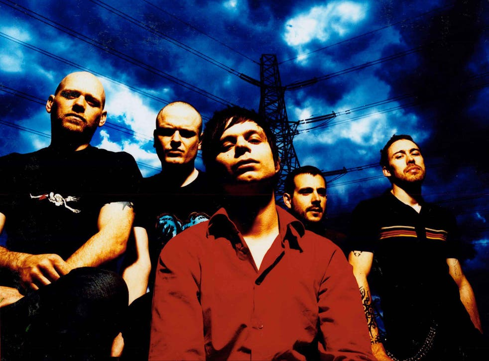 Oceansize as they were then; Mark Heron