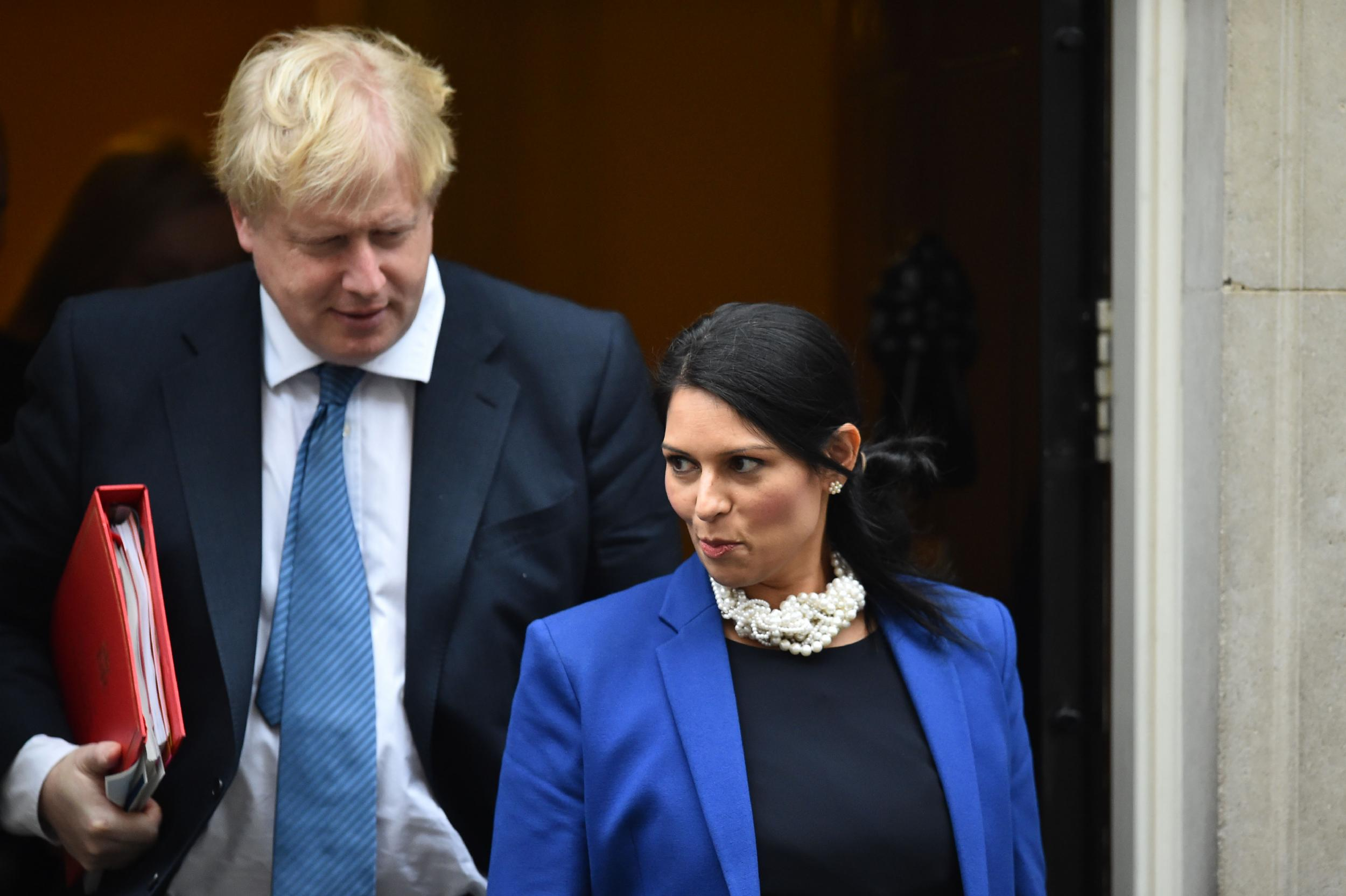 Priti Patel was 'accelerated' to Cabinet position because she's ...