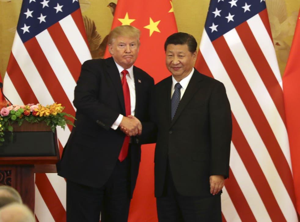 The US President applauded Xi Jinping's bid to usher China back into an era of a one man dictatorship