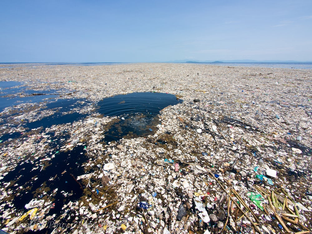 Plastic pollution plaguing our seas