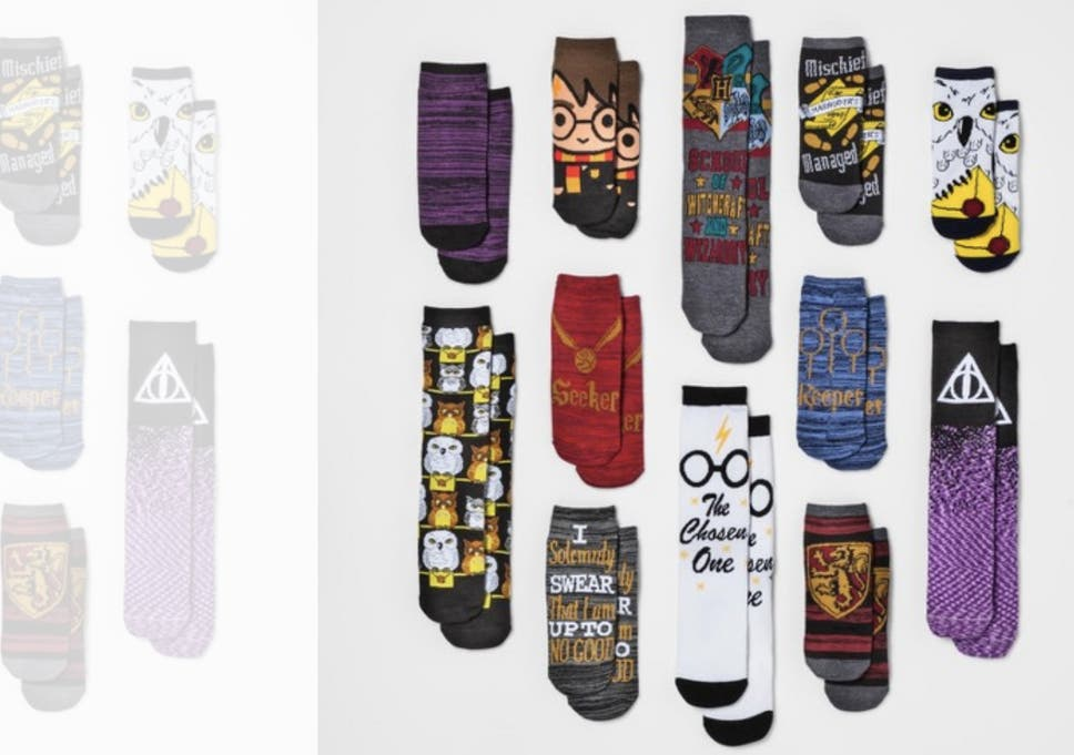 Harry Potter Advent Calendar.Harry Potter Advent Calendar Filled With Socks Launches In Time For