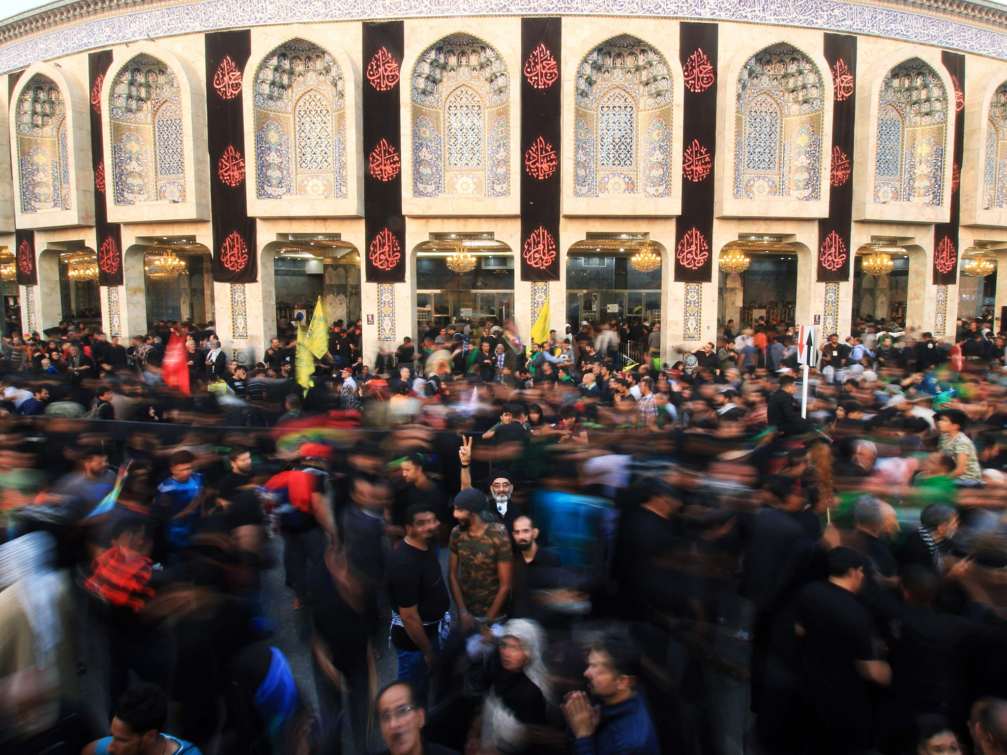 Arbaeen: Millions of Shia Muslims take part in world's