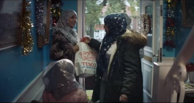 This Christmas advert features a Muslim family and people are furious