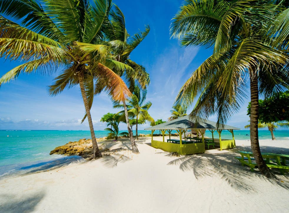Dream trip? Pigeon Point Beach on the island of Tobago