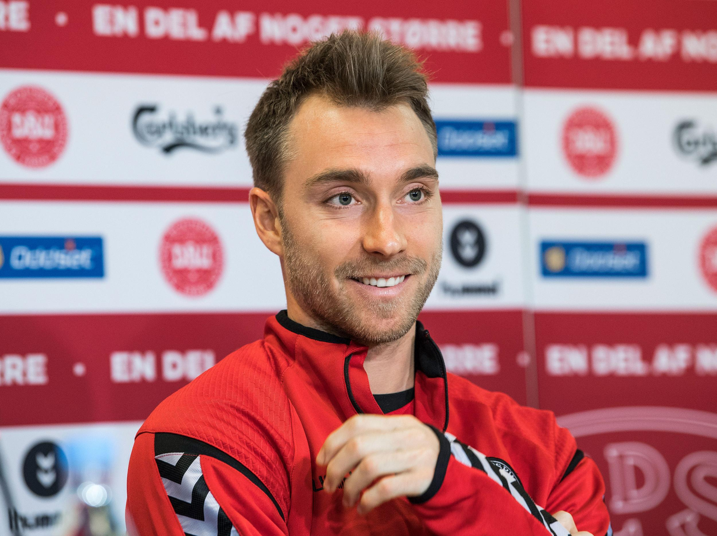 Christian Eriksen determined to make sure Denmark aren t watching