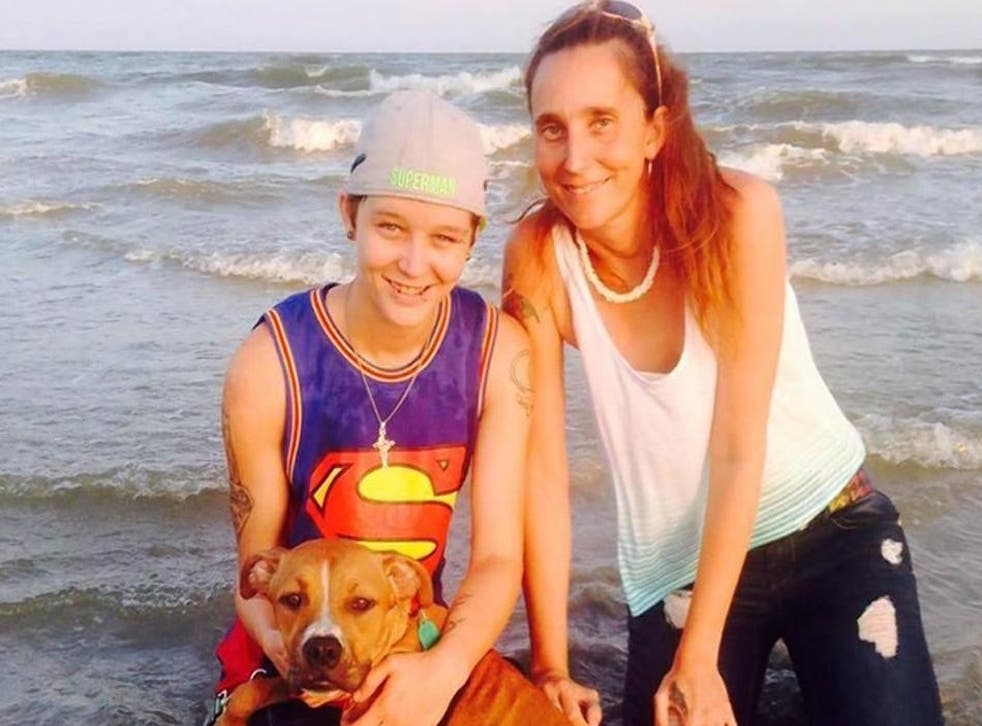 Daughter and mother Misty and Patricia Spann illegally married