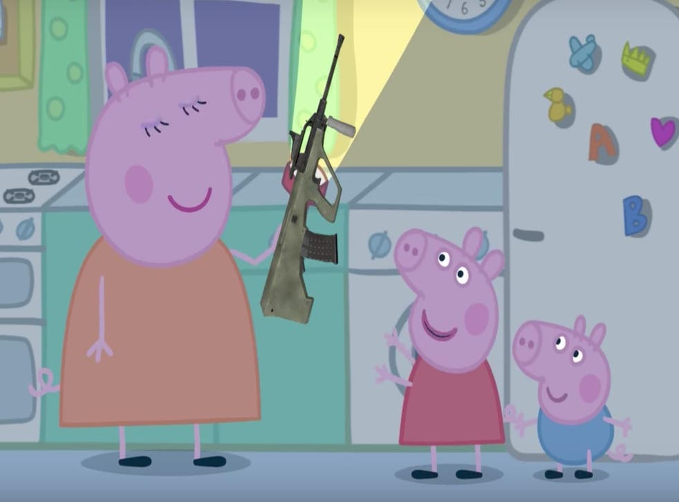 A Peppa Pig 'parody' that has been viewed more than a million times
