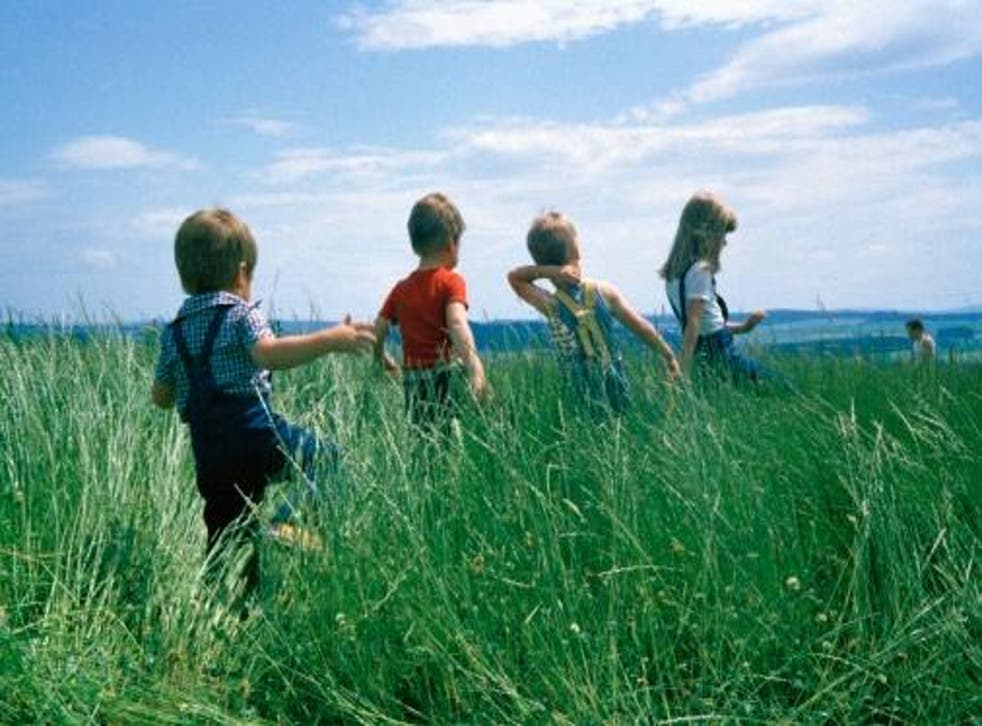 Growing up wasn't all about playing outside and downright wonderful