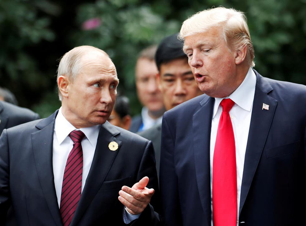 Multiple US intelligence agencies concluded Moscow interfered in the presidential election in the attempt to push the vote in the Republican's favour