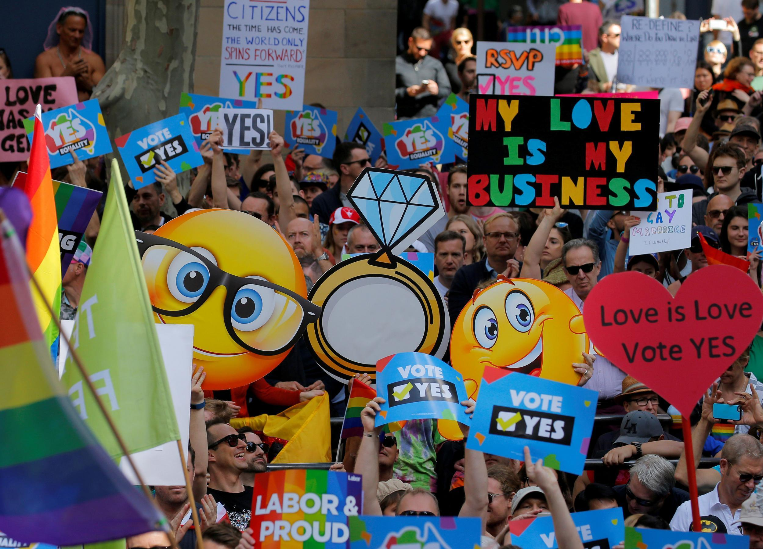 Australia Same Sex Marriage Referendum A Complete Waste Of Time Laptop Stand Jati Lgbt Community Says The Independent