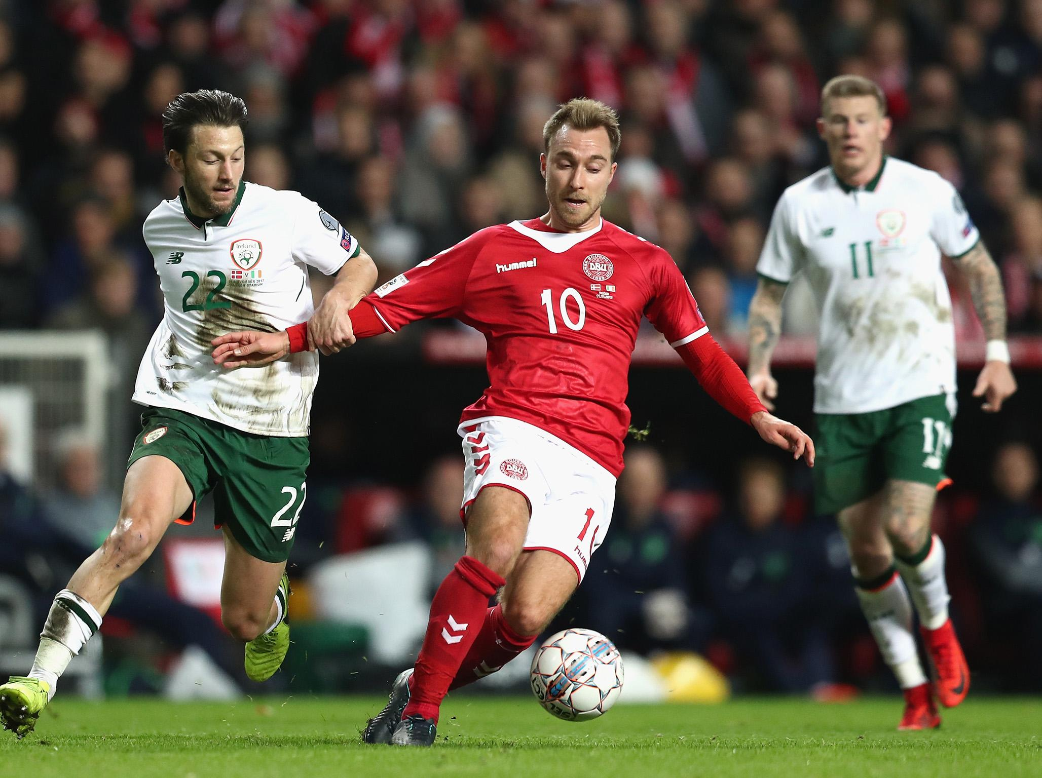 Republic of Ireland hold Denmark to low-quality but high-pressure draw and set up grand occasion in Dublin