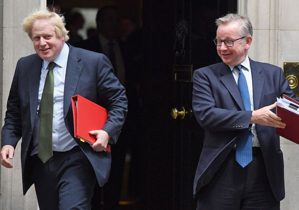 Thinktank which 'helped draft Johnson and Gove letter to May ...