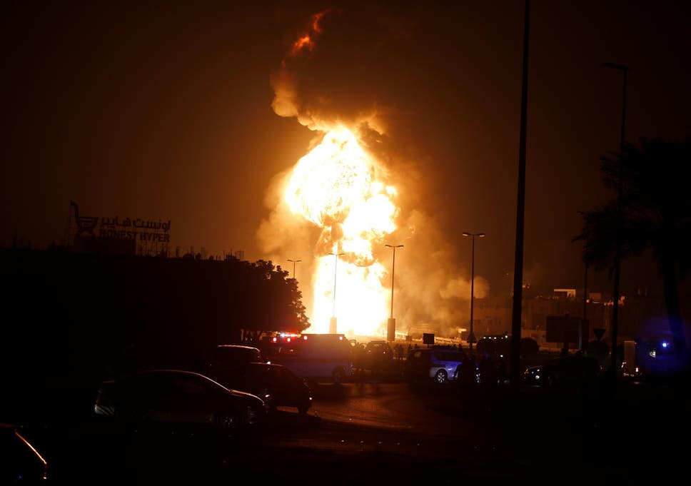 Bahrain claims that oil explosion on Manama pipeline was