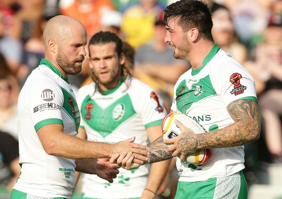 e33ba95eb28 Ireland crash out of the Rugby League World Cup in style after hammering  Wales