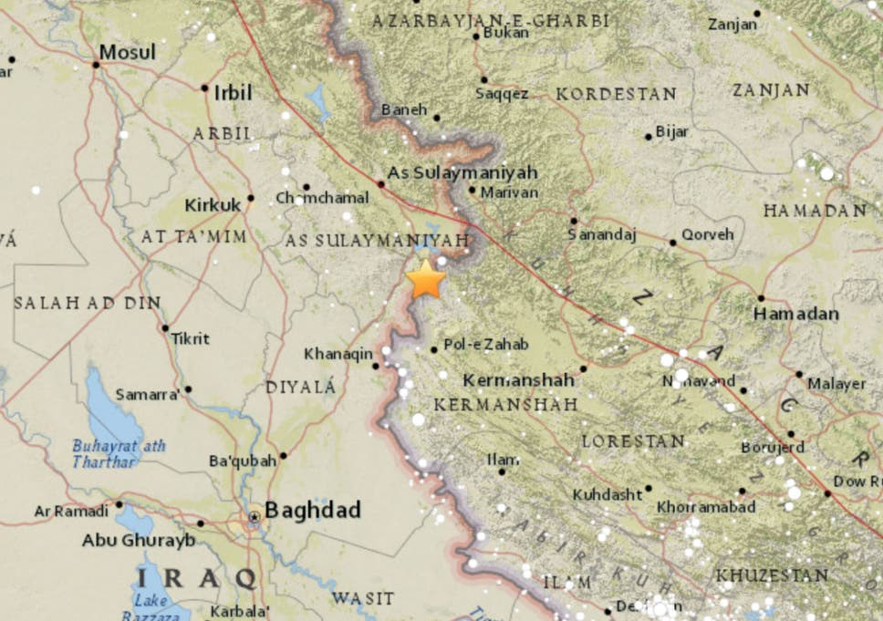 Iraq-Iran earthquake: At least 61 dead and more than 300 injured in ...