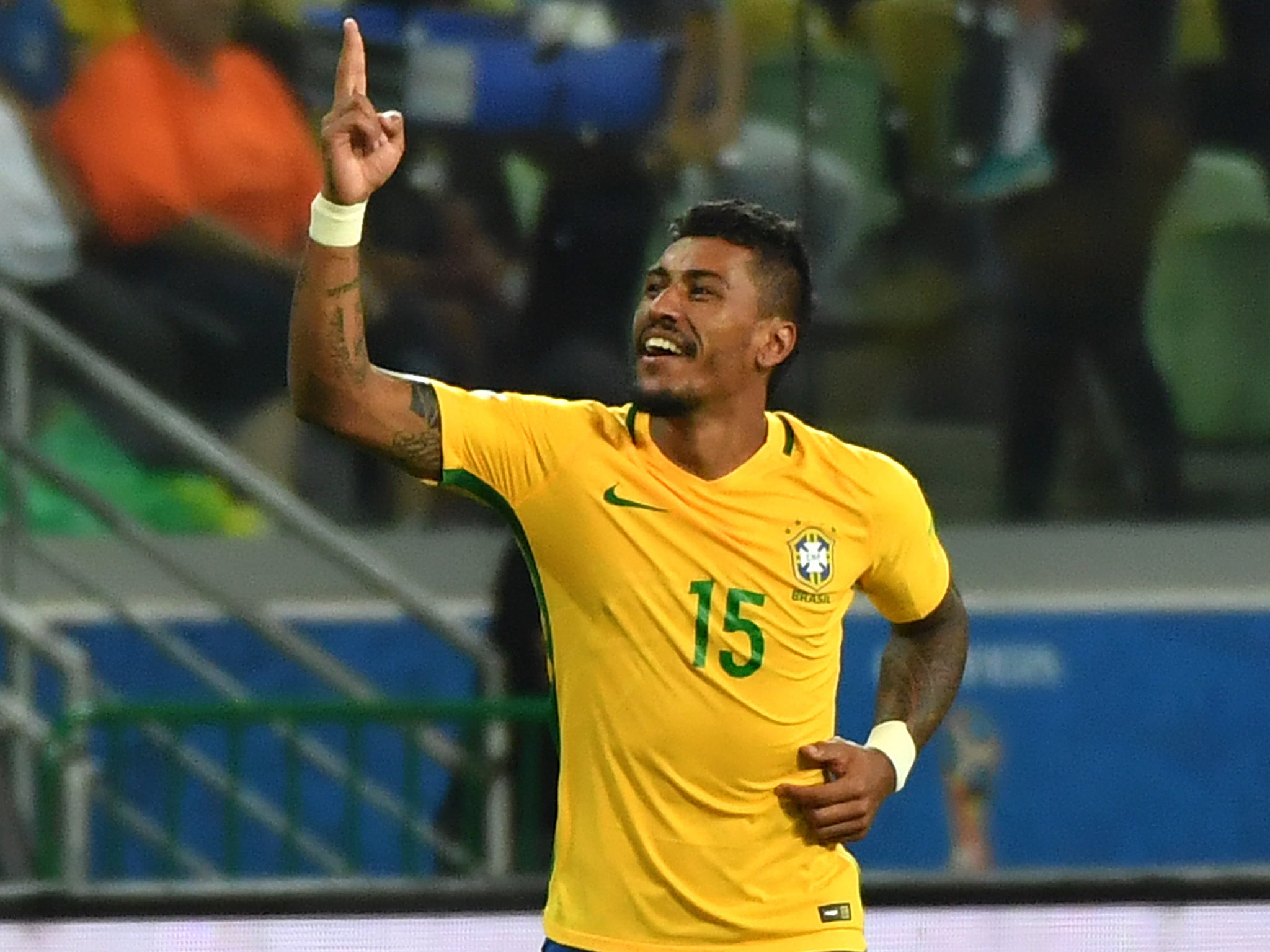 Paulinho returns from the dead with Brazil to provide reminder