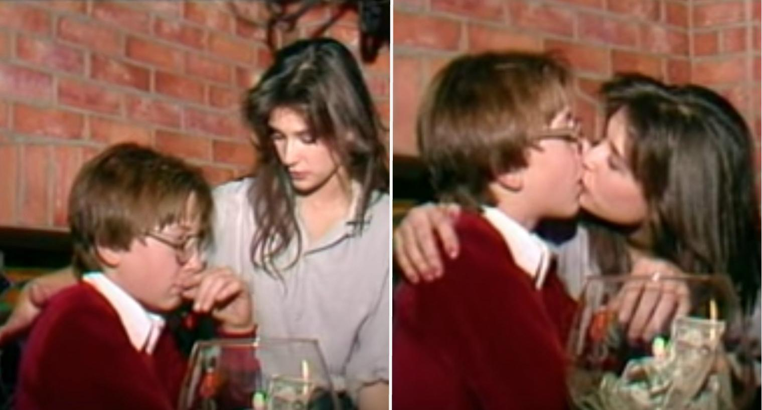 video resurfaces of demi moore passionately kissing 15-year-old boy
