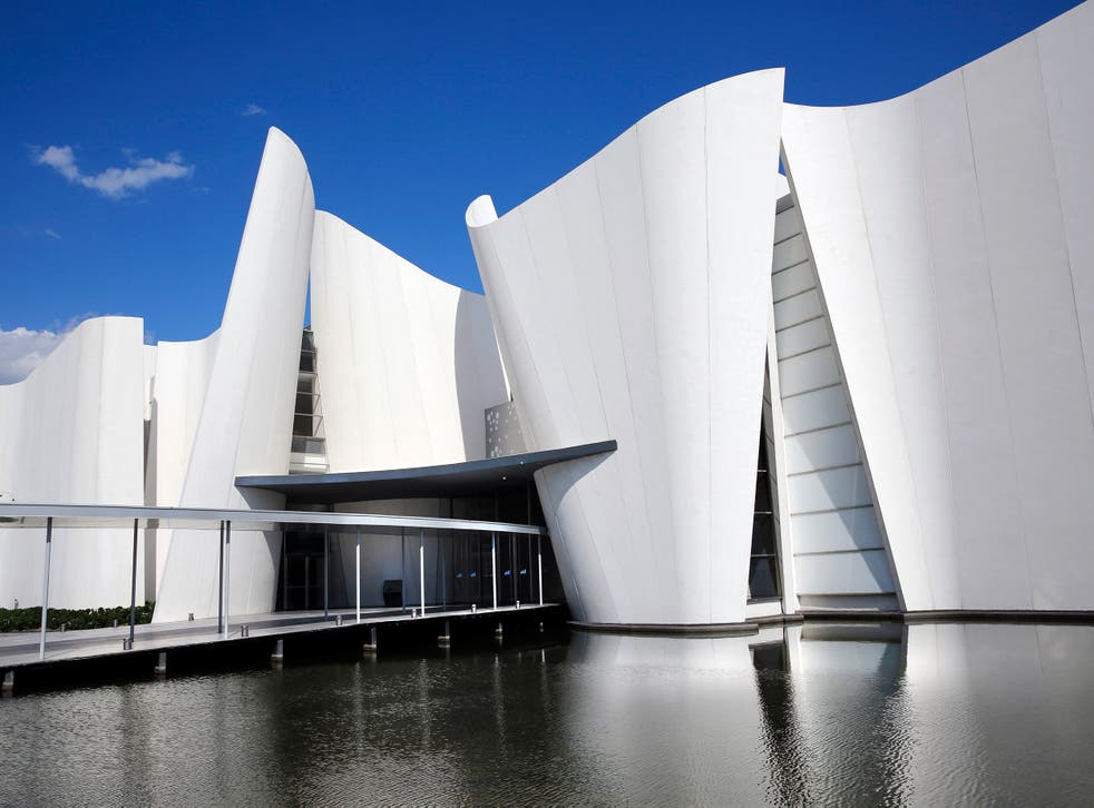Baroque and roll's hall of fame: Japanese architect Toyoo Ito designed the remarkable building